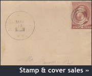 Stamp & cover sales