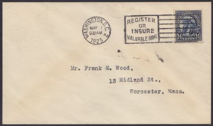 14-cent American Indian stamp on first day cover