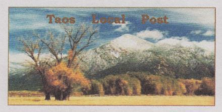 Taos Local Post stamp