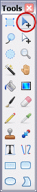 Tools Toolbar in Paint.NET