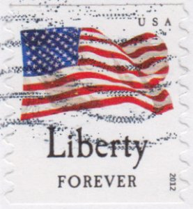 Avery Dennison Liberty coil stamp