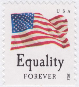 Equality booklet stamp