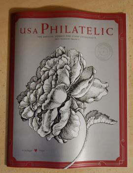 Cover of 2015 Quarter 1 issue of USA Philatelic