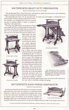 Page from 1923 American Type Founders Company catalogue