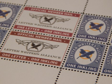 letter writers alliance fantasy stamps