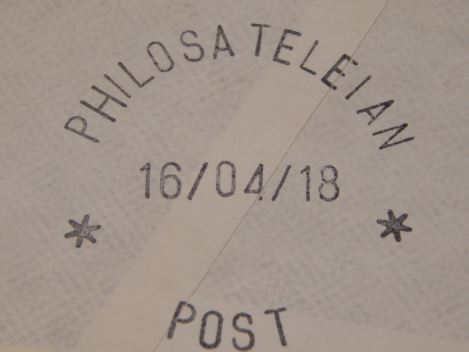 Philosateleian Post postmark