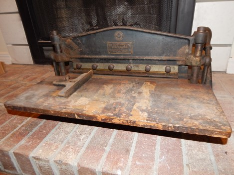 Southworth hand perforator