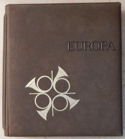 Front cover of Fleetwood Europa first day cover album