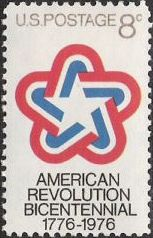 8-cent U.S. postage stamp picturing stylized star