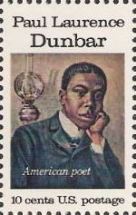 10-cent U.S. postage stamp picturing Paul Laurence Dunbar