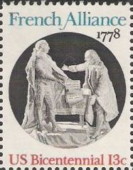 13-cent U.S. postage stamp picturing sculpture