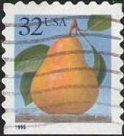 32-cent U.S. postage stamp picturing pear