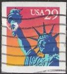 29-cent U.S. postage stamp picturing Statue of Liberty