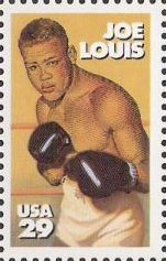 29-cent U.S. postage stamp picturing Joe Louis