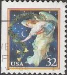 32-cent U.S. postage stamp picturing angel