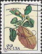 32-cent U.S. postage stamp picturing citron