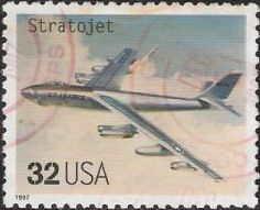 32-cent U.S. postage stamp picturing Stratojet