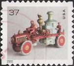 37-cent U.S. postage stamp picturing toy fire pumper