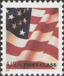 Non-denominated 37-cent U.S. postage stamp picturing American flag