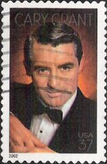 37-cent U.S. postage stamp picturing Cary Grant