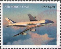 $4.60 U.S. postage stamp picturing Air Force One