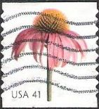 41-cent U.S. postage stamp picturing coneflower