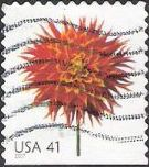 41-cent U.S. postage stamp picturing dahlia
