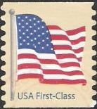 Non-denominated 41-cent U.S. postage stamp picturing American flag