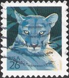 26-cent U.S. postage stamp picturing Florida panther