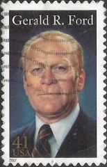 41-cent U.S. postage stamp picturing Gerald R. Ford
