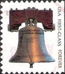 Forever U.S. stamp picturing Liberty Bell