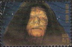 41-cent U.S. postage stamp picturing Emperor Palpatine