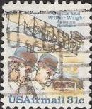 31-cent U.S. postage stamp picturing Orville and Wilbur Wright
