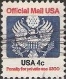 4-cent -cent U.S. postage stamp picturing Great Seal of the United States