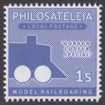 Model Railroading stamp