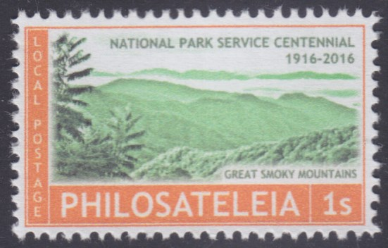 National Park Service Centennial stamp